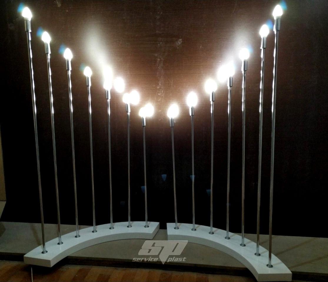 Лампы, светильники, свечи, креативный декор для праздников, свадебная фотозона, президиум