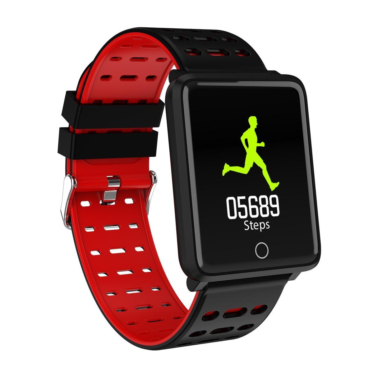 Водонепроницаемые Умные часы F3 Smart watch (пульс, давление, шагомер, калории, управление)