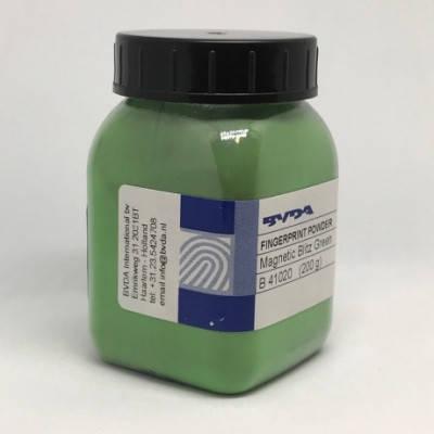 Порошок магнітний флуоресцентний зелений, фото 2