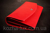 Кошелек женский кожаный красный, Braun Buffel без металла, натуральная кожа, фото 2
