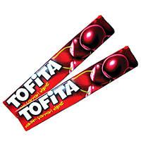 """Жевательные конфеты Tofita со вкусом Вишни к/в, 1/47г/1 шт, ТМ """"Kent"""""""