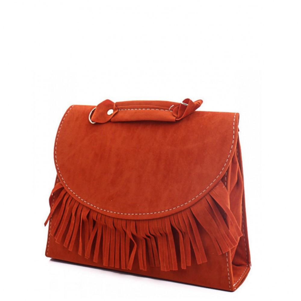 bc441f788f0b Женская оранжевая сумка лапша через плечо JUMAY 302302 - 24/7 UA - Товары  для