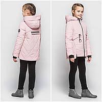 Легкая куртка для девочки 104-110 Детская демисезонная курточка весна осень