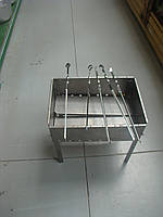 Мангал для шашлыка на 8 шампуров