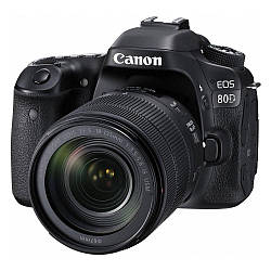 Фотоаппарат Canon EOS 80D kit EF-S 18-135mm IS USM