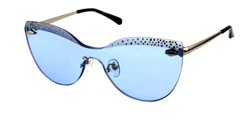 Стильні окуляри від сонця жіночі кішечки Donna