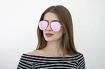 Женские солнцезащитные зеркальные очки 2018 (8304-6), фото 3