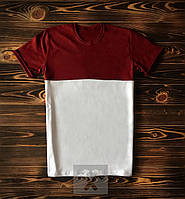 Красно белая футболка, фото 1