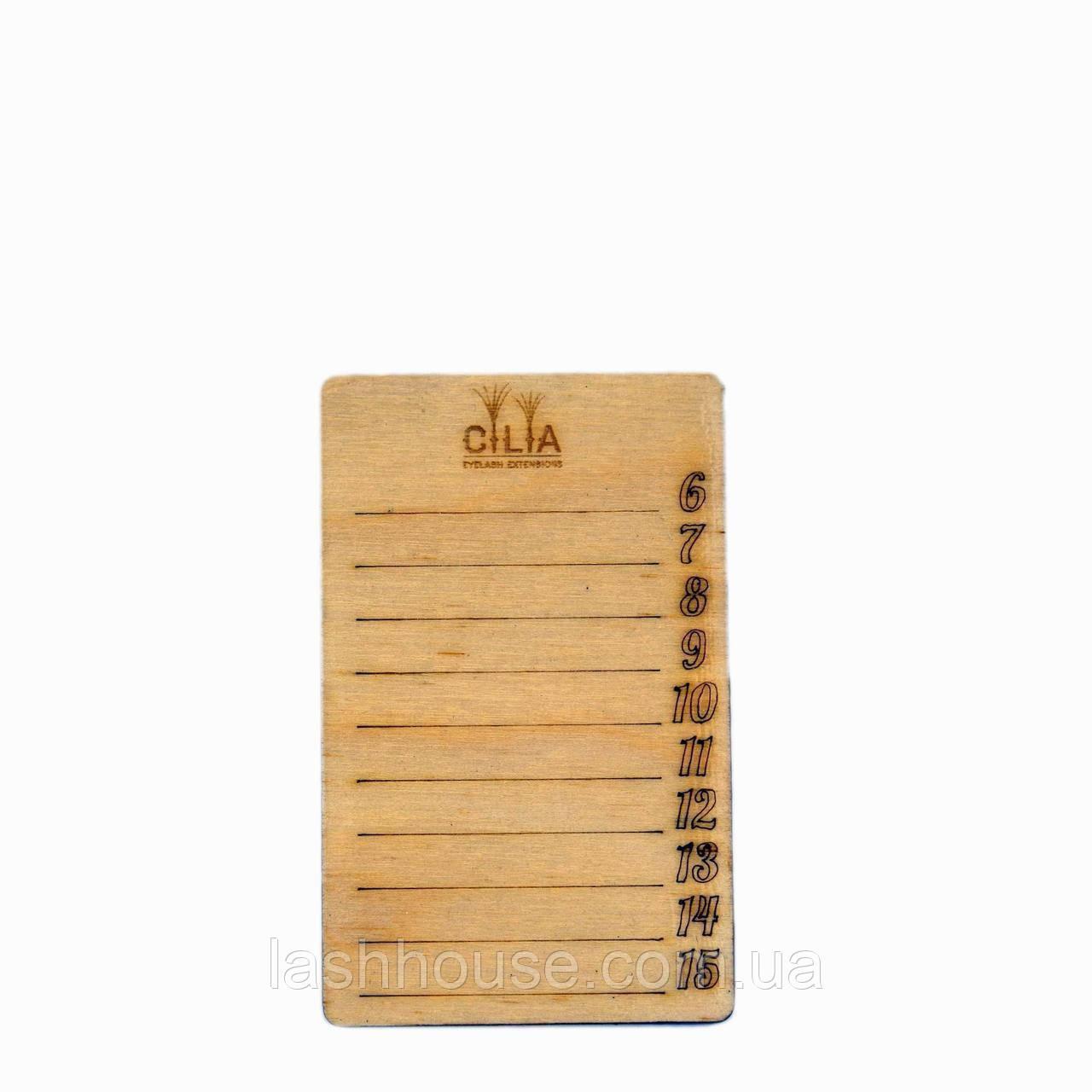 Lash-Paletta Деревянная [5х8мм]