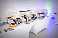 Стрейч чехол на Стол 180х90/75 из Стрейч ткани с Плотными карманами на ножки, фото 2