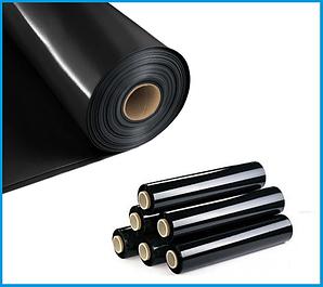 Пленка черная для мульчирования, строительная (3 х 50 м., 3х 100м.)