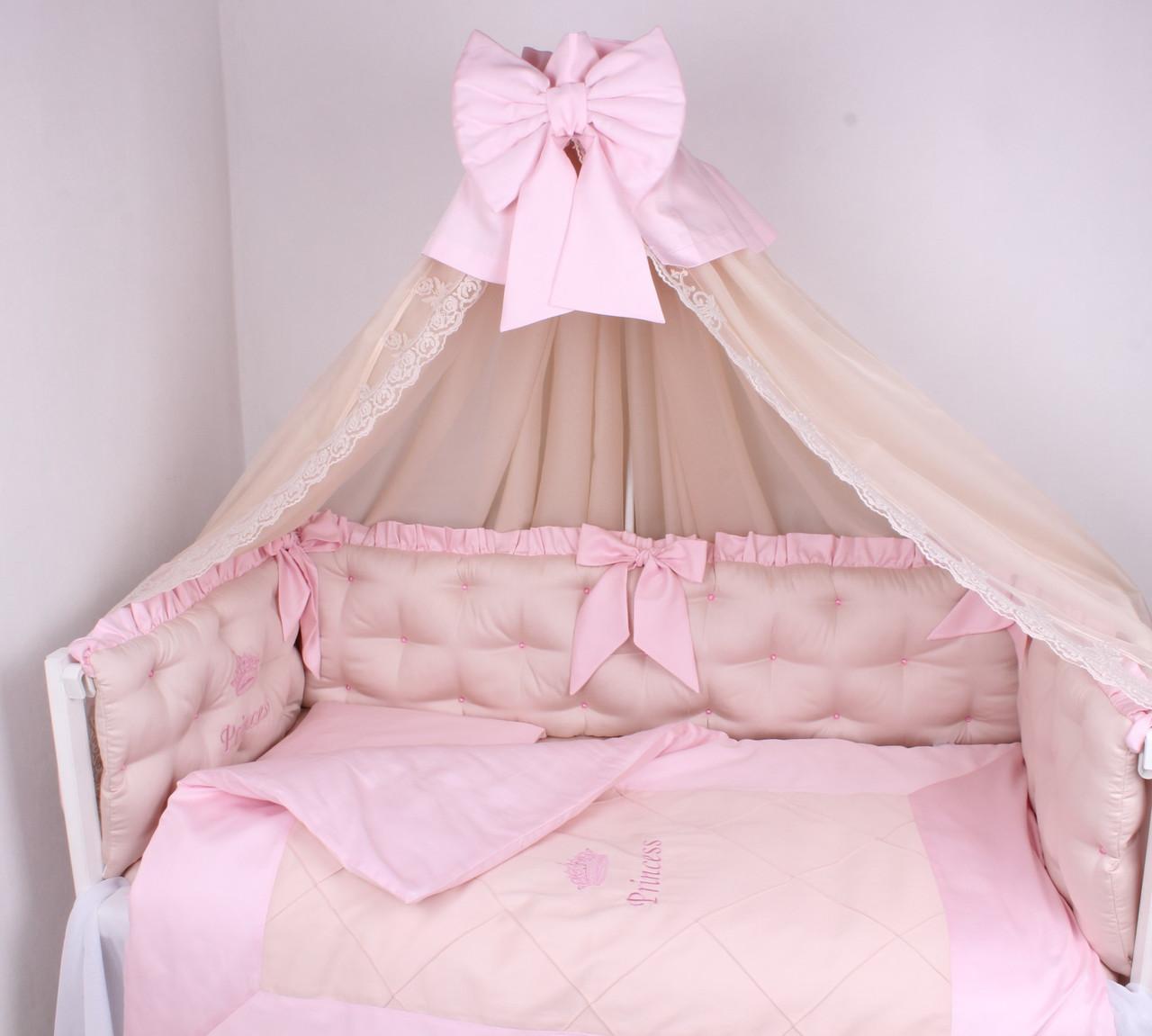 Сказочный комплект в  кроватку для Принцессы