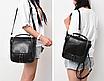 Сумка рюкзак женская трансформер Vintage Черный, фото 3