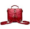 Сумка рюкзак женская трансформер Vintage Черный, фото 6