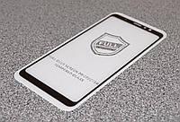 5D Стекло Люкс для Meizu M8 Note Черное (FullCover)