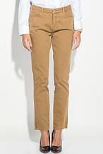 Штаны, брюки женские классические 503F001 (Горчичный)