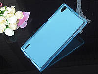 TPU чехол для HTC Desire 820 голубой