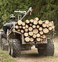 Прицеп для квадроцикла Shark ATV Trailer Wood 1500 (Black), фото 6