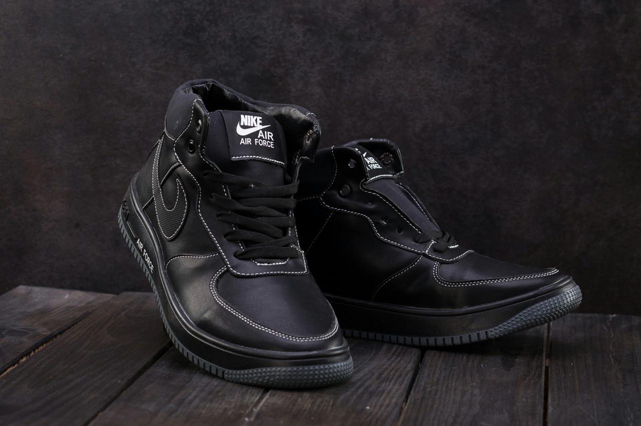 7107f0e2db22bf Зимние кеды CrosSAV Nike Air Force Мужская кожаная обувь на шнуровке  Классический дизайн Доступно Код: КГ7794