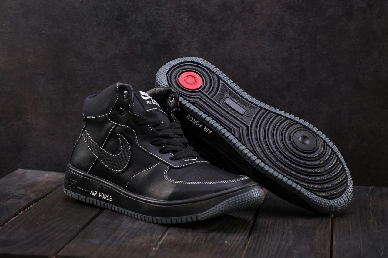 3893306bcd6646 ... Зимние кеды CrosSAV Nike Air Force Мужская кожаная обувь на шнуровке  Классический дизайн Доступно Код: ...