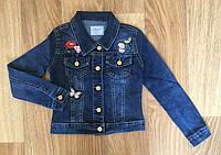 Куртка джинсовая для девочек оптом, Seagull, 134-164 см, № CSQ-89987, фото 1