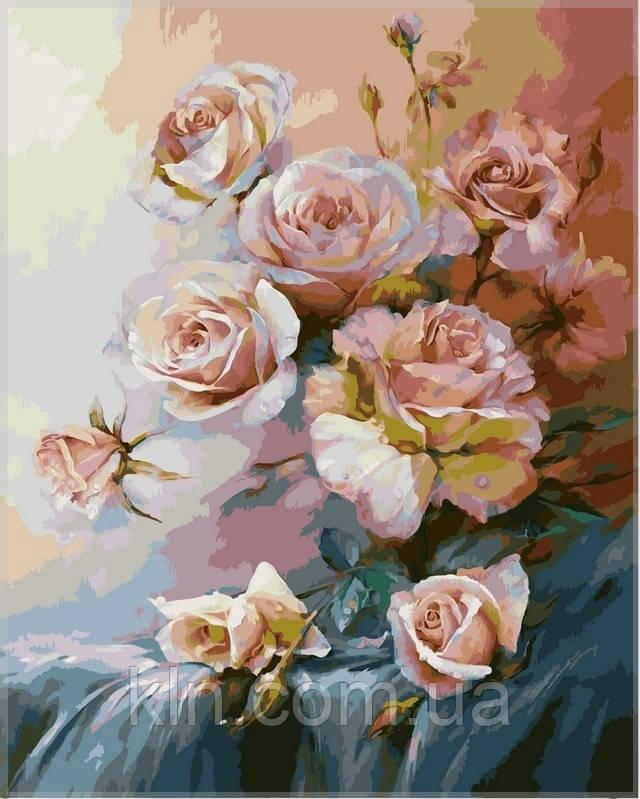 Картина по номерам Babylon Розовое утро VP325 40 х 50 см