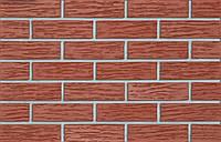Melbourn NF 26  плитка клинкерная красная рифленая