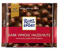 Шоколад Ritter Sport Nut Selection темный с цельным лесным орехом 100 г