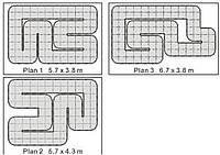 Трек Firelap LXX-2 24 м2 для автомоделей, масштаб 1к28 R139683