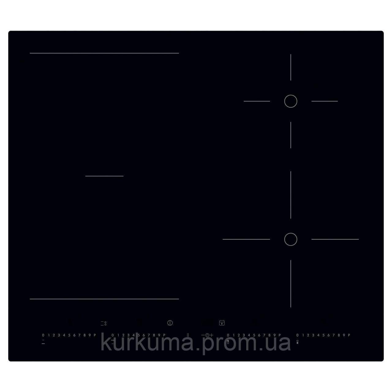 IKEA OTROLIG Индукционная варочная панель, черный  (403.039.34)