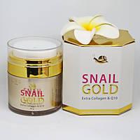 Крем для лица омолаживающий с улиткой и экстрактом золота Royal Thai Herb, 50 гр