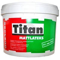 Eskaro Titan Mattlatex 5 л Водно-дисперсионная моющаяся краска для потолков и стен арт.4820166520091