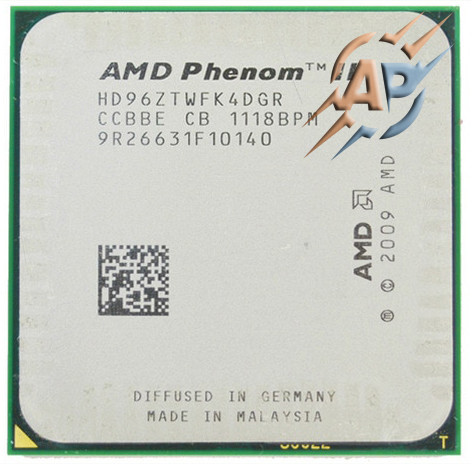 Процессор AMD Phenom II X4 960T Black Edition 3.0GHz 2000MHz (HD96ZTWFK4DGR) Socket AM2+/AM3 95W