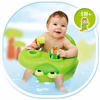 Стульчик для купания Smoby Cotoons с игровой панелью Зеленый 110615