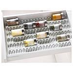 IKEA VARIERA Вставка в ящик для банок, глянцевый белый  (001.772.49), фото 2