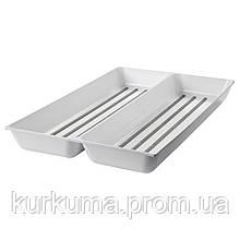 IKEA VARIERA Вставка в ящик, глянцевый белый  (702.427.41)