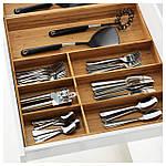 IKEA VARIERA Лоток для столовых приборов, бамбук  (402.046.94), фото 2