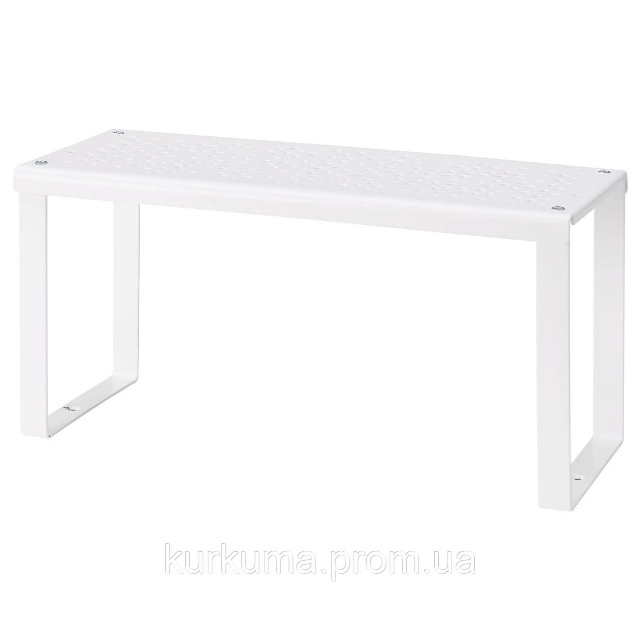 IKEA VARIERA Полка, белый  (801.366.22)