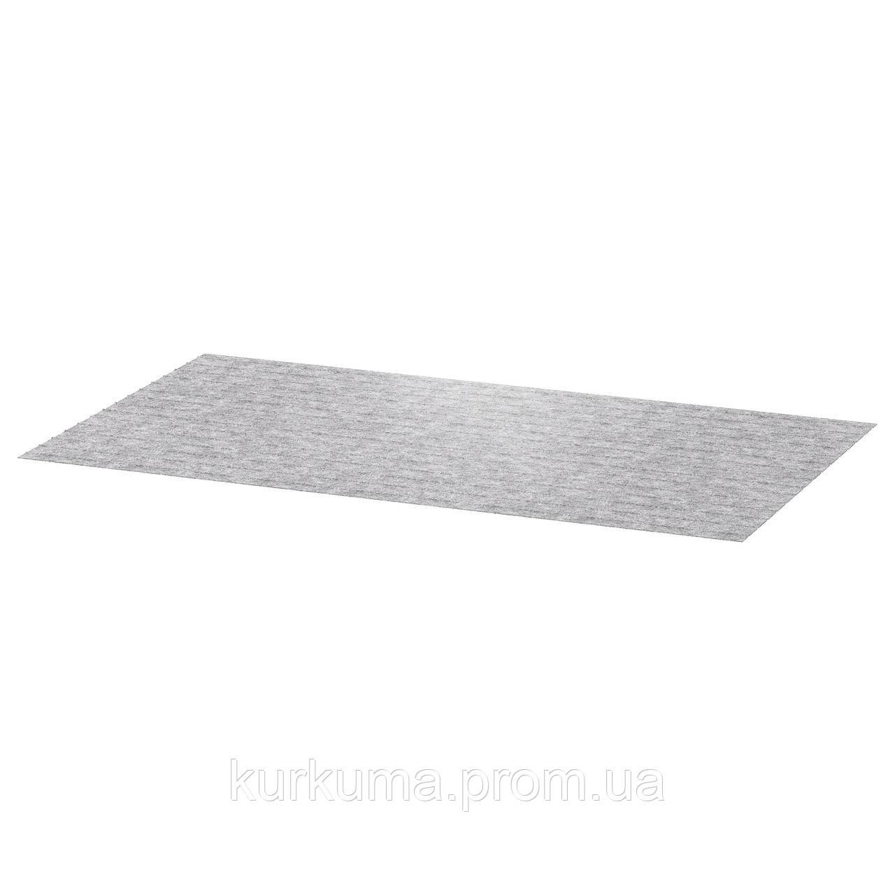 IKEA PASSARP Коврик для ящика, серый  (203.159.66)