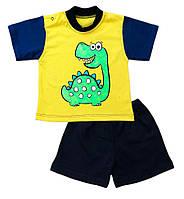 Комплект футболка и шорты для мальчика Дино