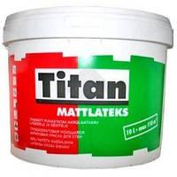 Eskaro Titan Mattlatex TR 2,25 л матовая краска для cтен и потолков арт.4820166520121