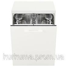 IKEA RENGORA Встроенная посудомоечная машина, серый  (703.858.34)