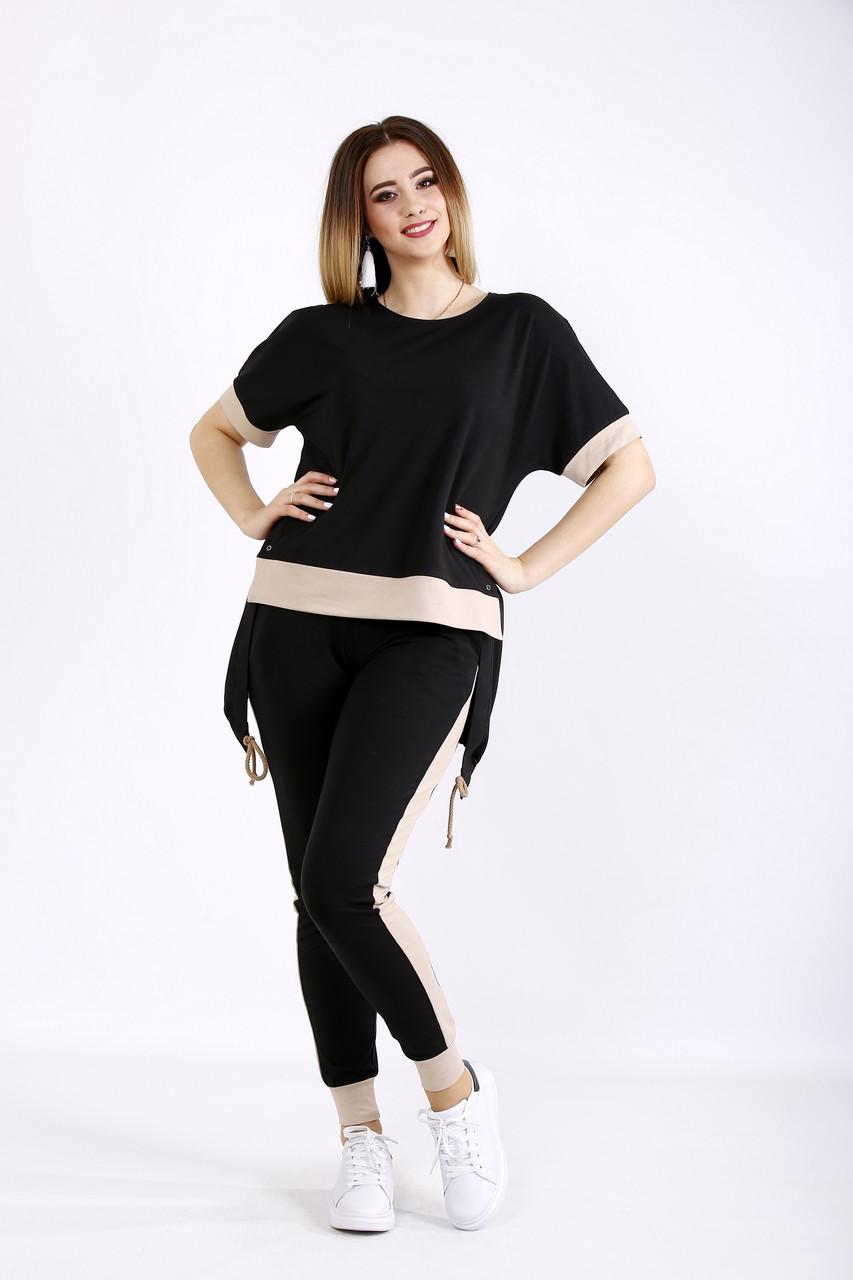 b9e7721c550f Модный спортивный костюм для полных женщин