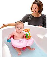 Стульчик для купания Smoby Cotoons с игровой панелью Розовый 110616
