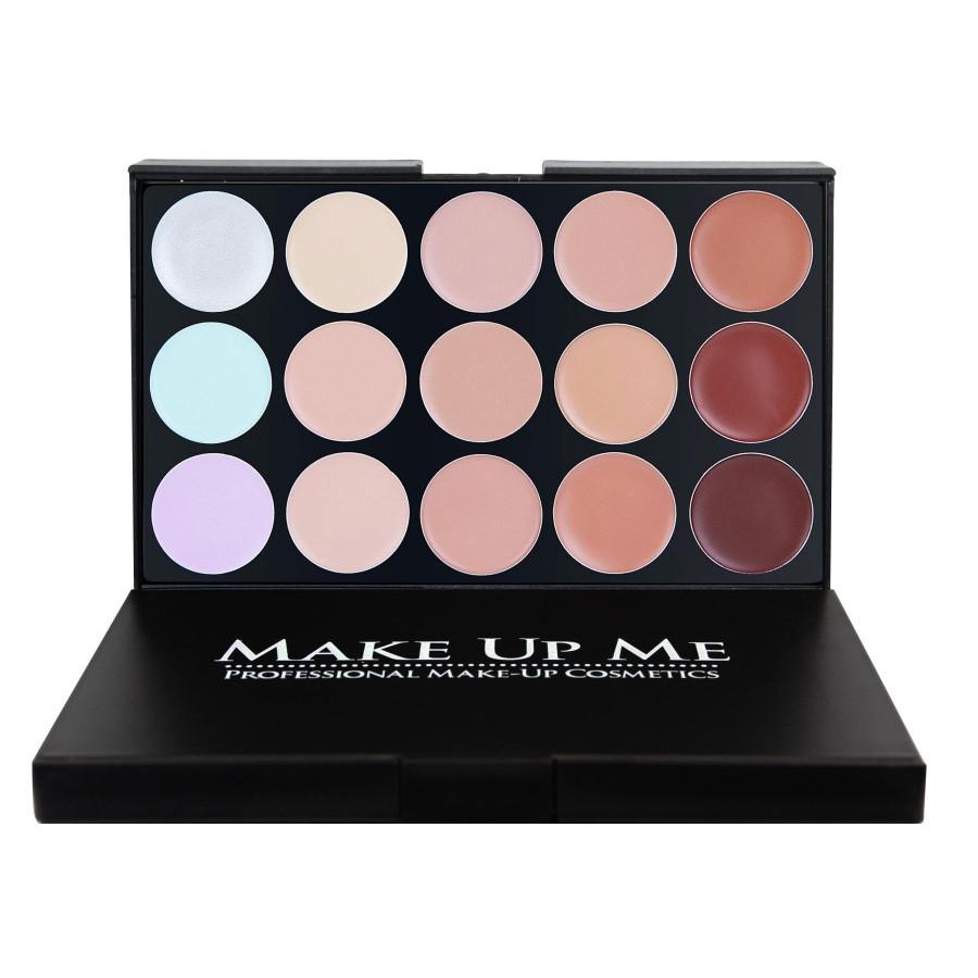 Профессиональная палитра жидких корректоров 15 цветов Make Up Me FG15