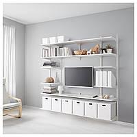 IKEA ALGOT Настенный стеллаж, белый  (690.946.85)