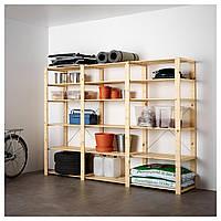 IKEA HEJNE Стеллаж, натуральный  (990.314.08)