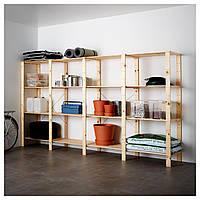IKEA HEJNE Стеллаж, натуральный  (490.469.78)