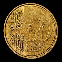 Монета Мальты 50 евро центов 2008 г.