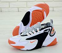 Кроссовки мужские Nike ZooM 2K реплика ААА+ размер 41-45 белый (живые фото), фото 1